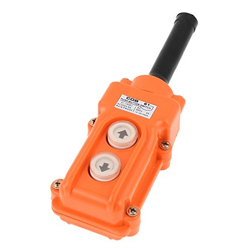 Uxcell a15080600ux0032 COB-61 Crane Pendant Control Station UP Down Hoist Push Button Switch