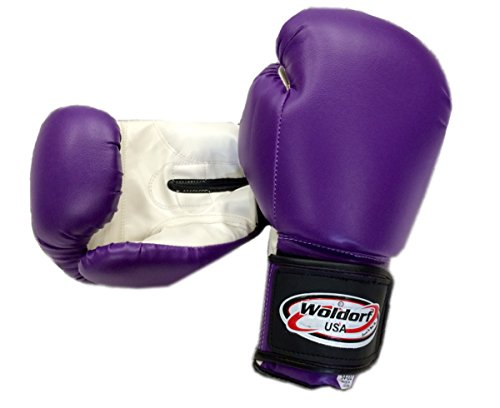Vinyl 16oz PURPLE (Vinyl Boxing Gloves)