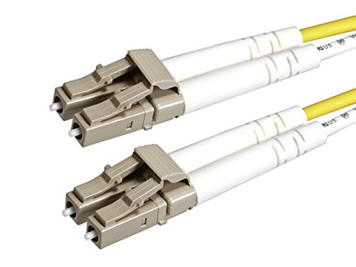 Monoprice 110325 3 meter (50/125 Type) Fiber Optic Cable LC/LC OM2 Multi Mode Duplex, - Orange Mu Shop