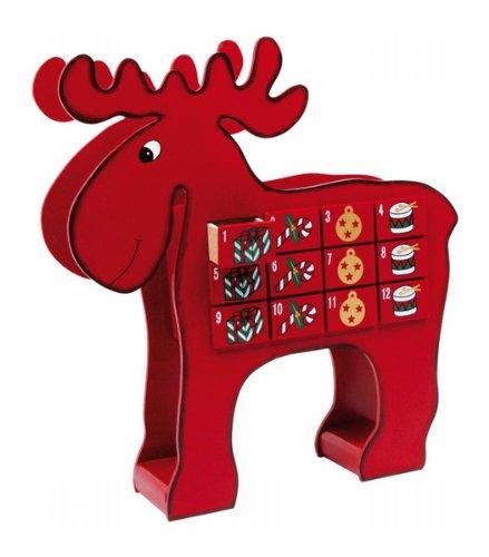 Advent Calendar ''Elk by Ziggy Art