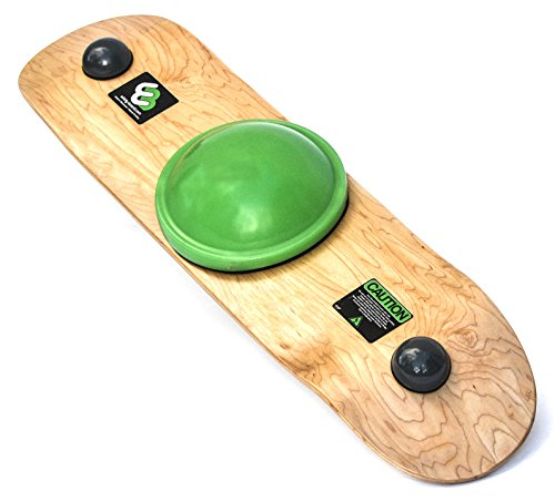 Balance Board Exercises Beginners: Whirly Board Spinning Balance Board And Agility Trainer