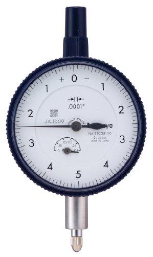 Mitutoyo 2923SB-10 Dial Indicator, #4-48 UNF Thread, 0.375