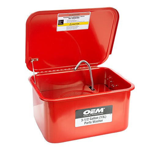 OEMTOOLS 24800 3.5 Gallon Benchtop Parts Washer (Colors may vary)