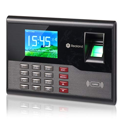 Time Attendance, Realand A-C121 Biometric Fingerprint Clock Terminal Device System 2000 Users TCP/IP RFID Card 125Khz