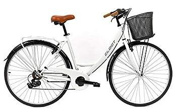 CLOOT Bicis de Paseo Relax 700 Shimano 6V Blanca, Bicicletas ...