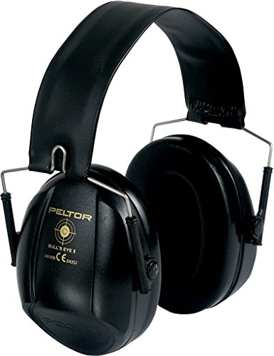 Peltor Bull's Eye I Protective Earmuff Black by Peltor