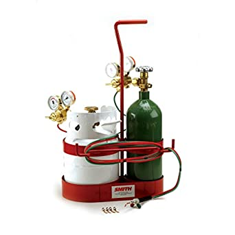 Gas Welding Outfit, 30-15-510 Propane Regulator, 30-20-540 Oxygen  Regulator, Propane Fuel