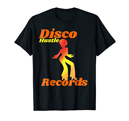 1970s Disco Hustle Records Dance shirt or men or woman