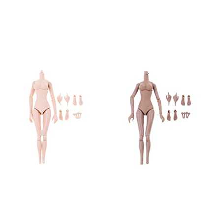 1//6 Seamless Female Figure Body Skeleton with Parts for Phicen Wheat Skin
