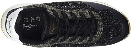 Negro Zapatillas Pepe Mujer Jeans Black para 999 Sand Koko awUzqO