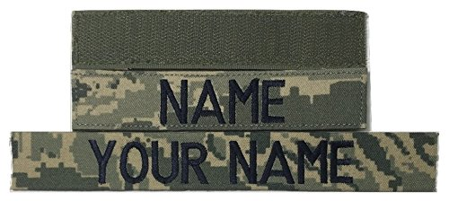 - ABU US Air Force Name Tape with Fastener or Sew-On - USAF Military (with Fastener)