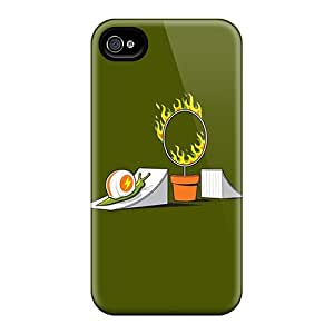 Excellent Design Snail Stunt Case Cover For Iphone 4/4s
