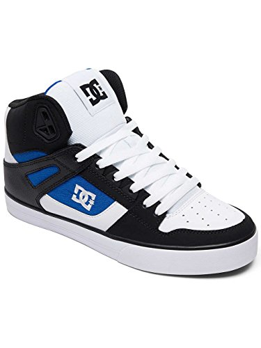 DC Pure High Top WC White Blue Black bianco