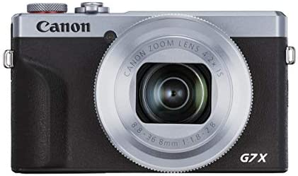 Canon G7 X Mark III PowerShot Vlogging Camera [G7X Mark III] 4K Video Streaming Camera, Vertical 4K Video Support with Wi-Fi, NFC and 3.0-inch Touch Tilt LCD, Silver