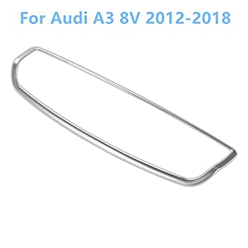 stainless steel Interior Air Conditioning Adjust Trim for Audi A3 8V 2012-2018