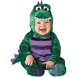 Incharacter Disfraces del bebé Dinky Dino Dinosaurio Disfraz, color multi-colored, talla Large for 18 Months - 2T