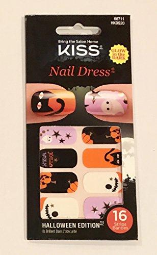 KISS Nail Dress 2016 Halloween - 66711 Spooky