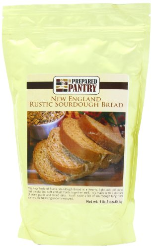 - The Prepared Pantry Bread Mix, New England Rustic Sourdough, 19 Ounce