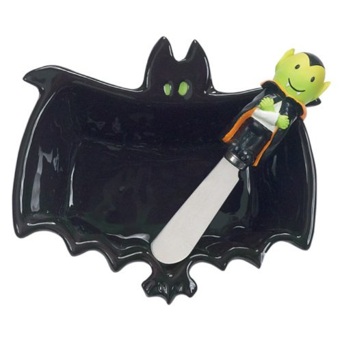 Bat Dip Bowl and Spreader Set