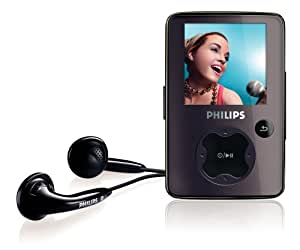 philips sa30 2 gb flash video mp3 player with. Black Bedroom Furniture Sets. Home Design Ideas
