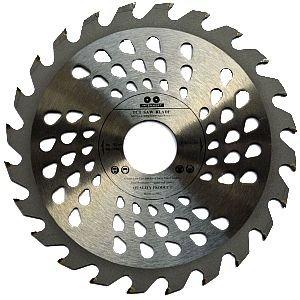 180 x 22,23 mm con orificio de 16 mm y anillo reductor de 20 mm, para discos de corte de madera, 24 dientes VOYTO Hoja de sierra circular de calidad