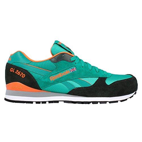 Reebok - GL 2620 - Colore: Arancione-Nero-Verde - Taglia: 44.0