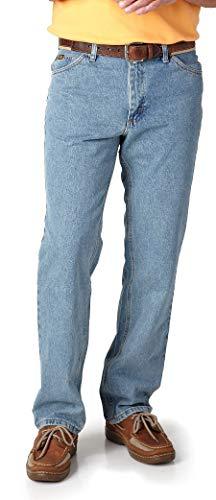 LEE Mens Regular Fit Straight Leg Jeans 36W x 30L Light Stone - Pants Lee Carpenter