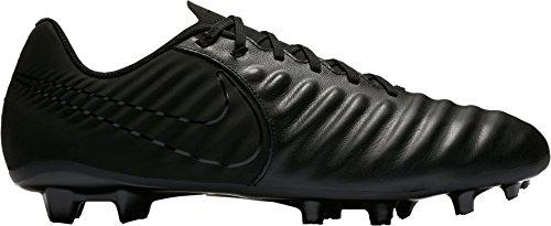 Nike Tiempo Ligera IV FG, Botas de Fútbol Para Hombre, Negro (Black/Black/Black 001), 43 EU