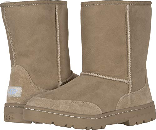 UGG Women's W Ultra Short Revival Fashion Boot, Sand, 7 M US