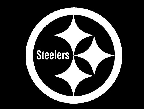 """Pittsburgh Steelers Decal Sticker 10"""" x 10"""" at SteelerMania"""