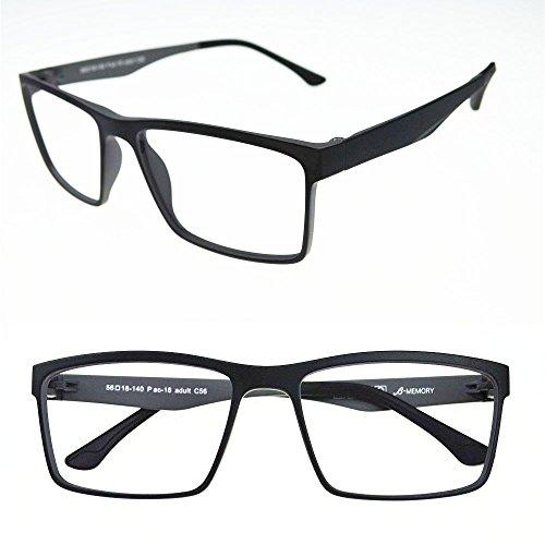Amazon.com: Agstum Mens Ultem Flexible Optical Eyeglasses Frame ...