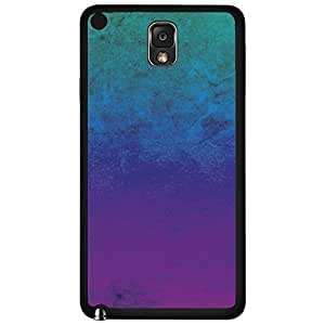 Teal, Blue, and Purple Ombre Gradient Hard Snap on Phone Case (Note 3 III)