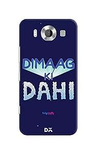 DailyObjects Dimaag Ka Dahi Case For Microsoft Lumia 950