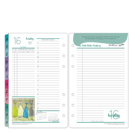 Compact Her Point of View Daily Ring-Bound Planner - Jul 2019 - Jun 2020