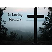 In Loving Memory: Funeral Guest Book, Memorial Service, Wake and Condolence Book, Cross on the Hill (Elite Guest Book)
