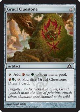 Magic: the Gathering - Gruul Cluestone - Dragon's Maze