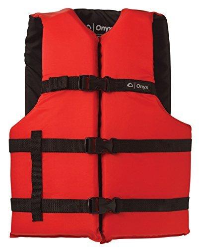 【数量限定】 ONYX Adult General Purpose Red Life Vest Red Universal Red Adult ONYX General Purpose Boating Life Jacket Adult Universal Size (30-52) Red [並行輸入品] B06XFLFV6H, 大宮町:cbe17851 --- a0267596.xsph.ru