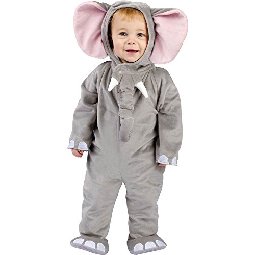 Fun World Cuddly Elephant Costume 6 12