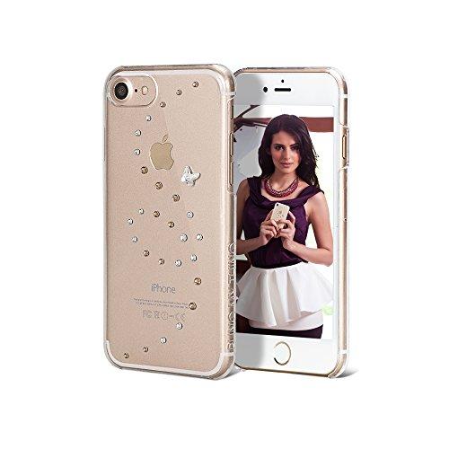 Bling My Thing ip7de PP de AGM CL papillon série luxe et design unique brillant avec cristaux Swarovski, d'origine Case pour Apple iPhone 7Angel Tears tendance