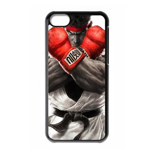 Street Fighter V 17 coque iPhone 5c cellulaire cas coque de téléphone cas téléphone cellulaire noir couvercle EEECBCAAN02905