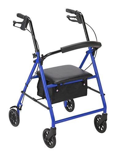 Drive Medical R800BL Rollator Blue