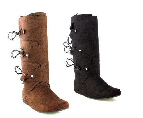 Ellie Shoes - Thomas (Black) Adult Boots - Large (12-13) - Black