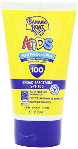 Banana Boat Kids Max Protect & Play Broad Spectrum Sunscreen