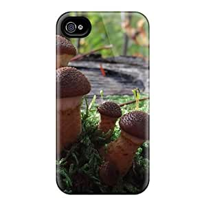 Faddish Magic Mushrooms Case Cover For Iphone 4/4s