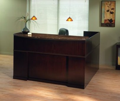 - Mayline SRCSRM 72 inch L Shaped Reception Desk