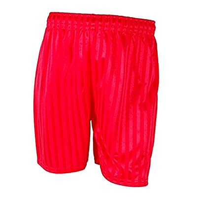 Boys Mens 1 Pair of Shadow Stripe Sports Shorts with 2 Pairs of Socks in 6 Colours 3-6 6-11