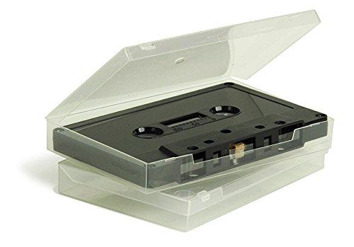 25 FROSTY SOFT POLY AUDIO CASSETTE BOX