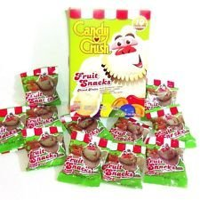 Candy Crush Fruit Snacks, 8 ounces, 10 servings, Shaped like Saga Game Pieces (1 box)