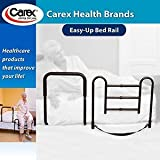 Carex Easy Up Bed Rail with Padded Support Bar style and durability& easily raise prevent falls Support