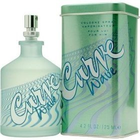 Curve Wave par Liz Claiborne for Men, Cologne Spray, 4.2 oz